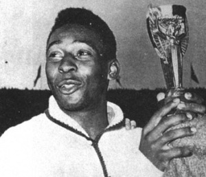 "Edson Arantes do Nascimento, aka ""Pele"" became the youngest goalscorer in 1958 at age 17."